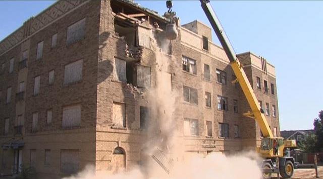 Amarillo Texas haunted building demolition