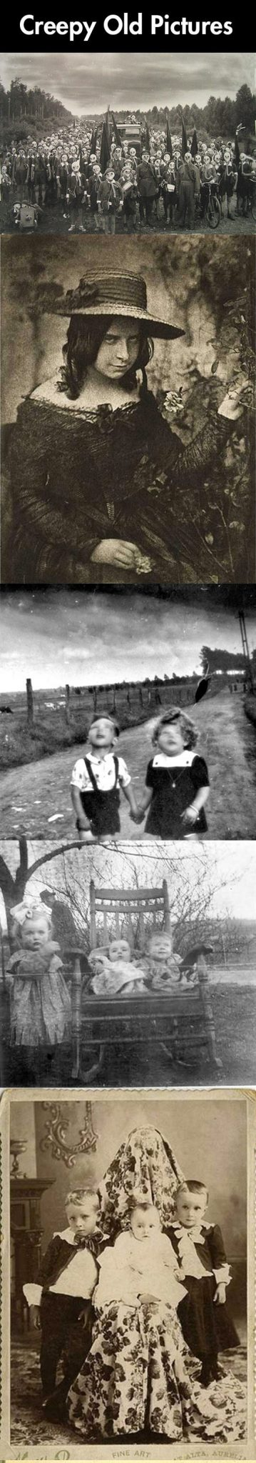 Creepy old pictures