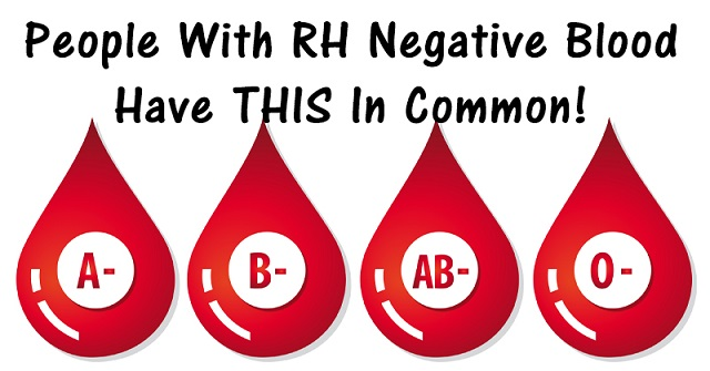 RH negative blood type