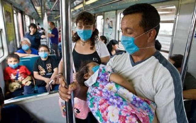 Image: The Telegraph, Swine flu Mexico