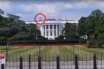 Alien entity on top of White House