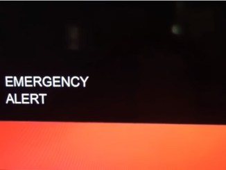 Emergency Alert message September 21 2017