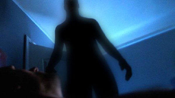 Shadow Man appears inside mans house