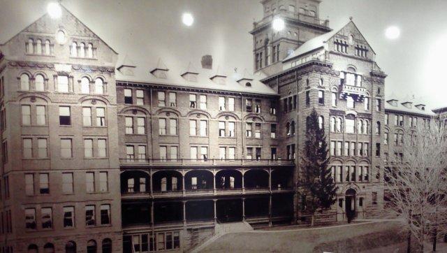 Ghost of North Hall Mansfield Pennsylvania