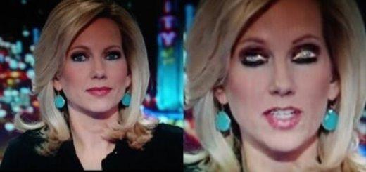 Reptilian reporter caught shape-shifting live on TV