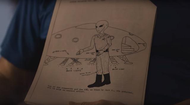 Steve Boucher alien encounter