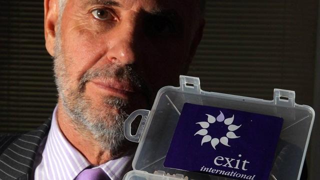 Image: Philip Nitschke at Exit International