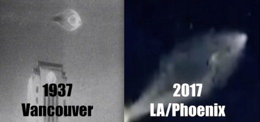 UFOs spotted 80 years apart seem quite similar