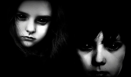 black eyed children