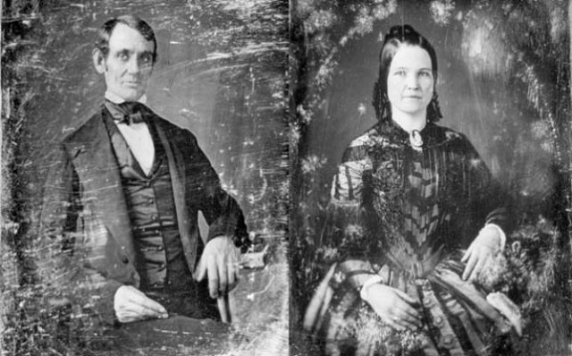 Abraham Lincoln and Mary Todd