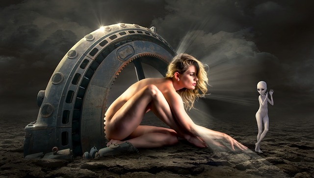 Alien human hybrid experimentation