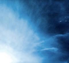 Arrowhead alien spaceship snapped flying over Kentucky