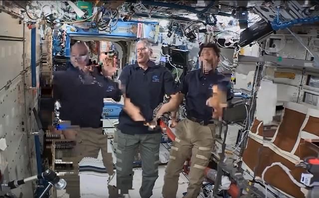 International Space Station glitch conspiracy