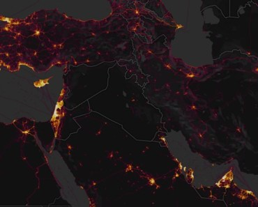 Strava heat map exposes secret government locations
