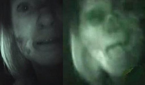 Teresa Fidalgo Ghost in car