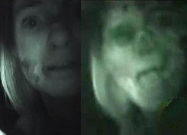 Teresa Fidalgo Ghost en voiture