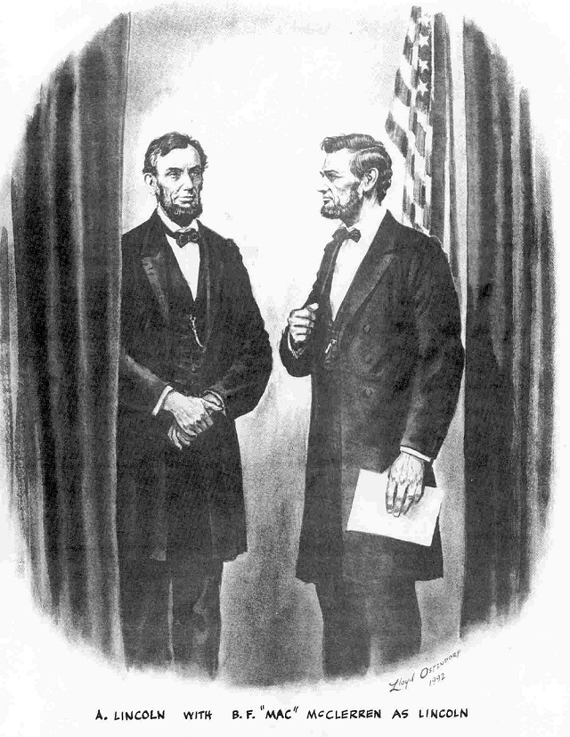 abraham lincoln doppelganger of doom
