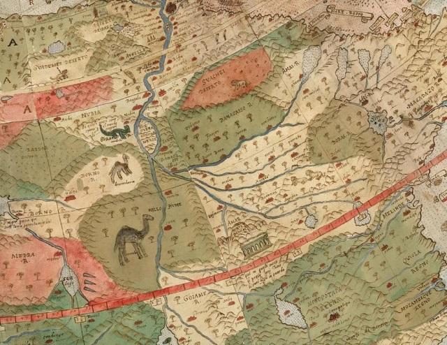 lizardmen Ancient Early World Map