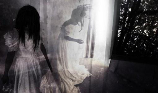 Anna Baker ghost wedding dress