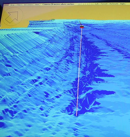 Loch Ness Monster Keiths Abyss sonar reading