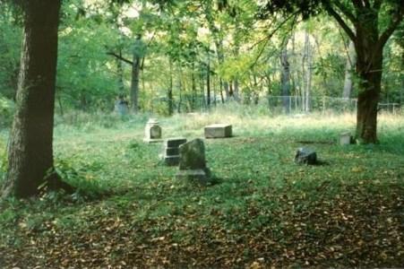 Bachelor's Grove Cemetery daytime