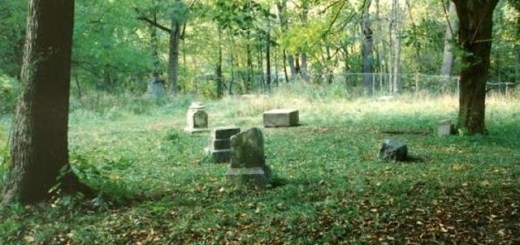 Bachelor's Grove Cemetery, a haunted location