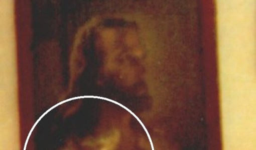 Ghost in Jesus picture