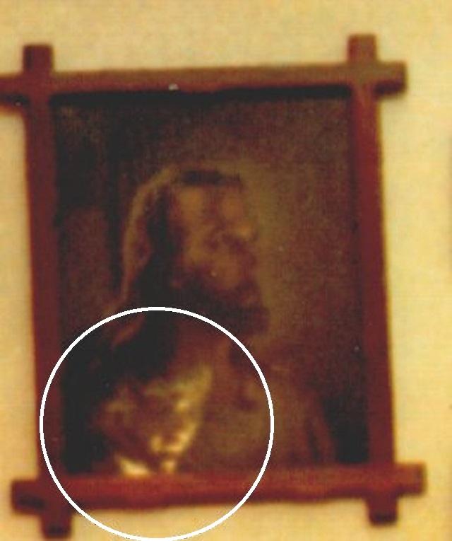 Fantôme en image de Jésus
