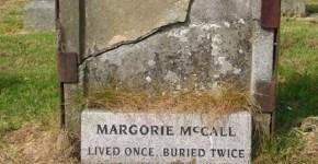 Margorie Mccall gravestone