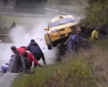 cab driver crash people side of hill