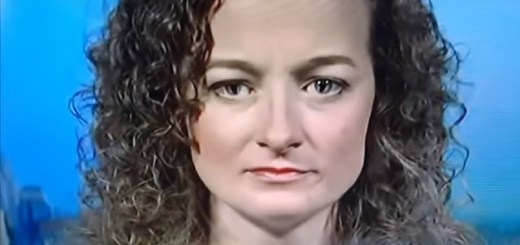 Reptilian shapeshifter caught live on television
