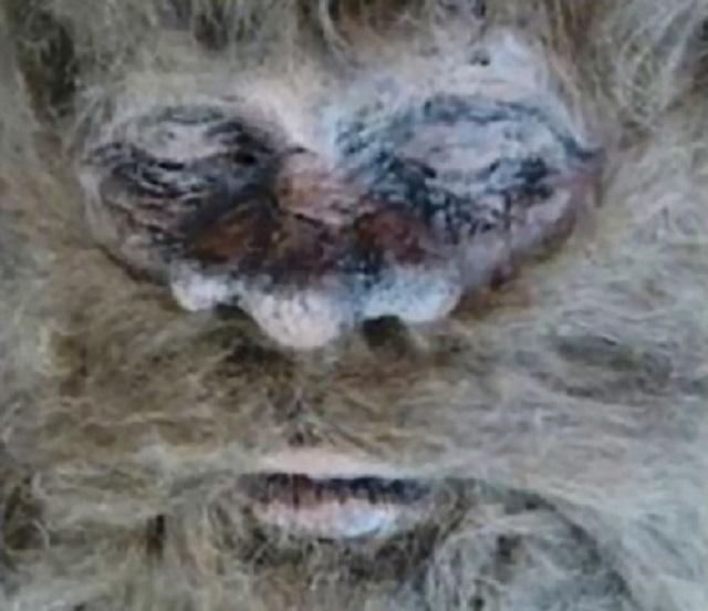 Rick Dyer Bigfoot face