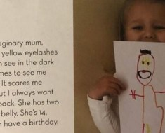 Ruby age 3 scares internet Imaginary Friend