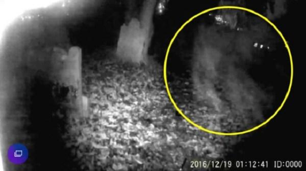 Tony Ferguson ghost capture England cemetery