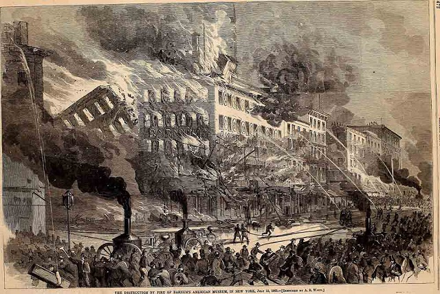 Barnum Fire New York