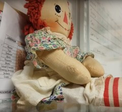Haunted doll caught on camera Scotland