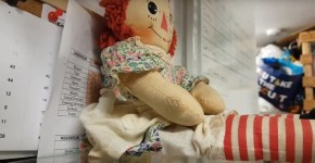 Haunted doll caught on camera Scotland