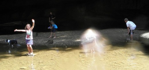 Photos Show Granddaughter Surrounded By Spiritual Mist