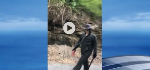 Mysterious 'Machete Man' Wanders West Virginia Road