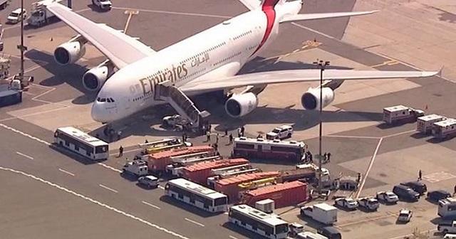 Emirates flight 203 from Dubai to JFK
