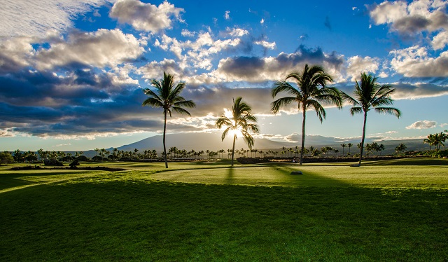 Mauna Lani Golf Course 18th hole