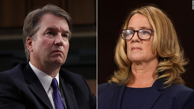 Brett Kavanaugh and Christine Ford