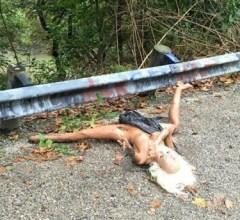 Discarded sex doll Colerain Ohio