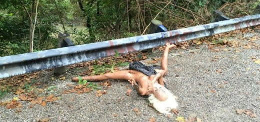 Discarded Sex Doll Mistaken For Dead Body