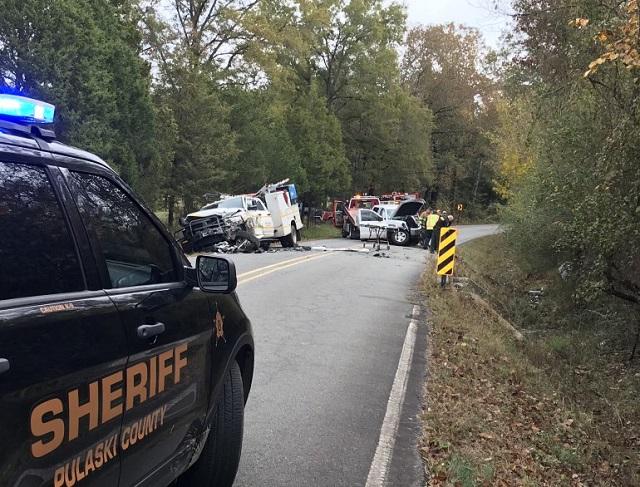 Crash d'un démon au bureau des shérifs du comté de Pulaski