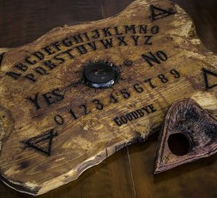 Wooden Ouija board
