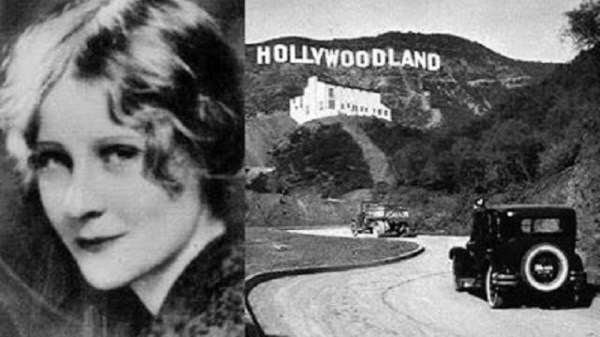 Peg Entwistle Hollywood sign ghost
