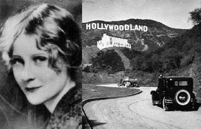 Peg Entwistle Hollywood sign ghost