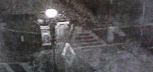 Security Officer Captures Eerie Ghost Image