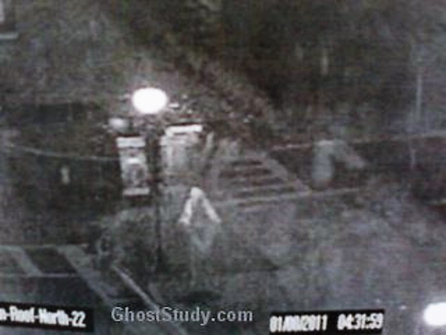 Security Officer Captures Ghost On Camera